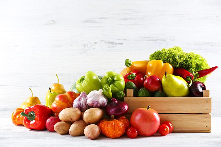 Ovoce a zelenina vitamíny ty jsou prima | Foto: Shutterstock