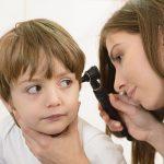 Zánět středního ucha u dětí
