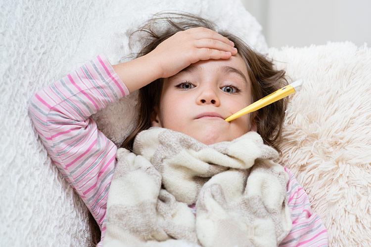 Nemocná holčička | Foto: Shutterstock