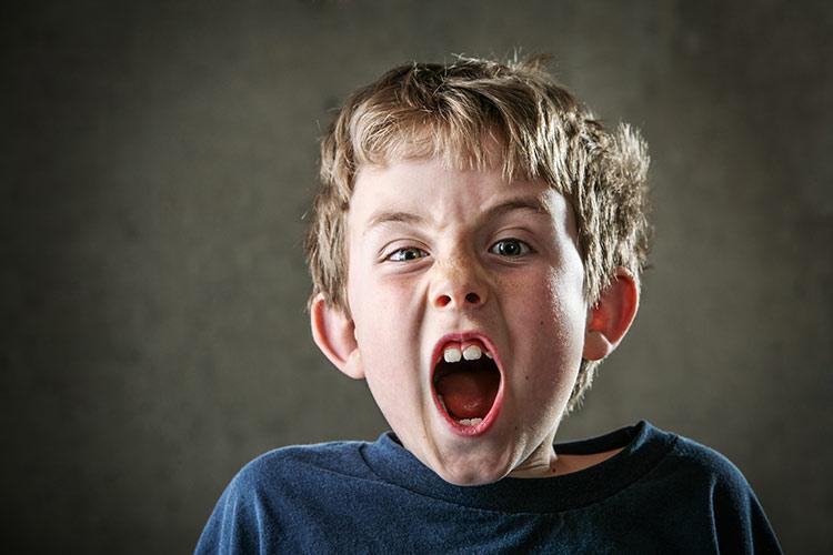 Křičící kluk | Foto: Shutterstock