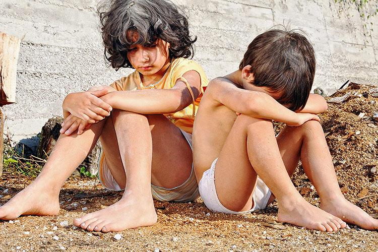 Sociálně vyloučené děti | Foto: Shutterstock
