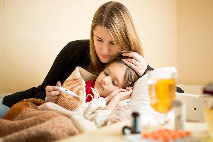 Chřipka u dětí | Foto: Shutterstock