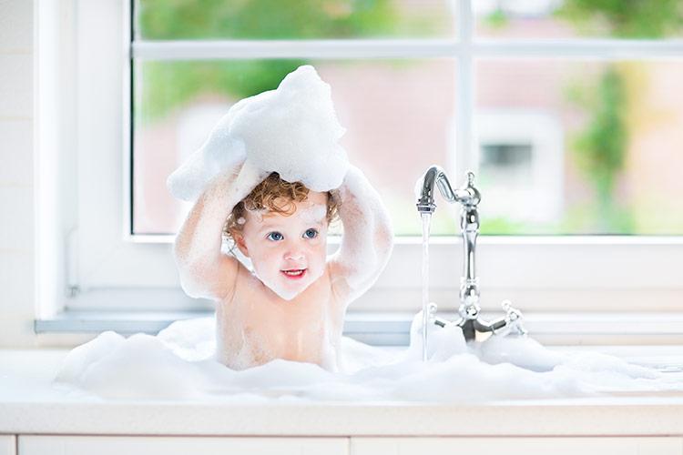 Dětská koupel | Foto: Shutterstock