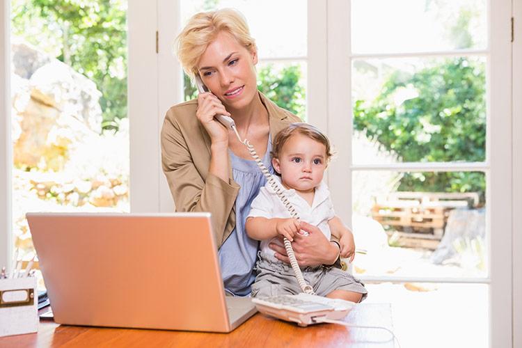 Podnikání na mateřské dovolené | Foto: Shutterstock