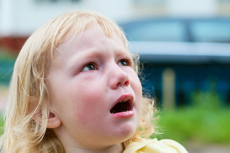 Uplakané dítě | Foto: Shutterstock