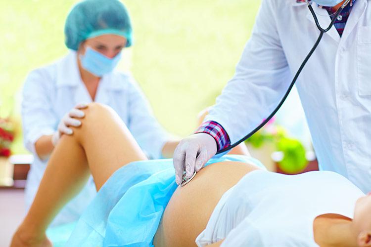 Těsně před porodem | Foto: Shutterstock