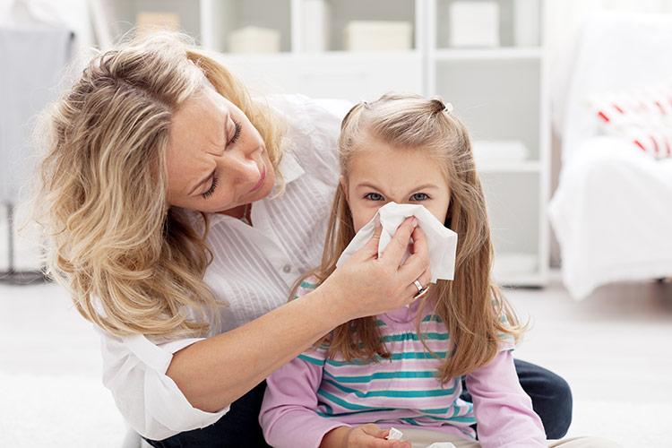Rýma u dětí | Foto: Shutterstock