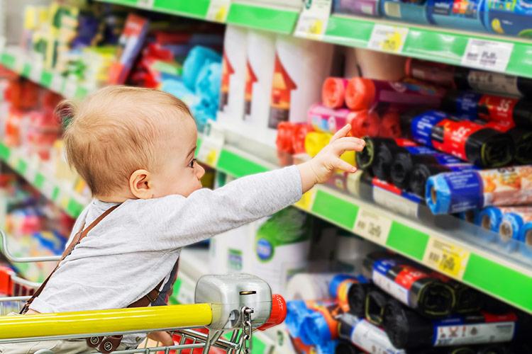 S dětmi na nákupech | Foto: Shutterstock