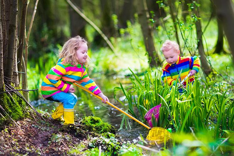 Lesní školka pro vztah k přírodě | Foto: Shutterstock