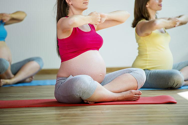 Těhotenská jóga | Foto: Shutterstock